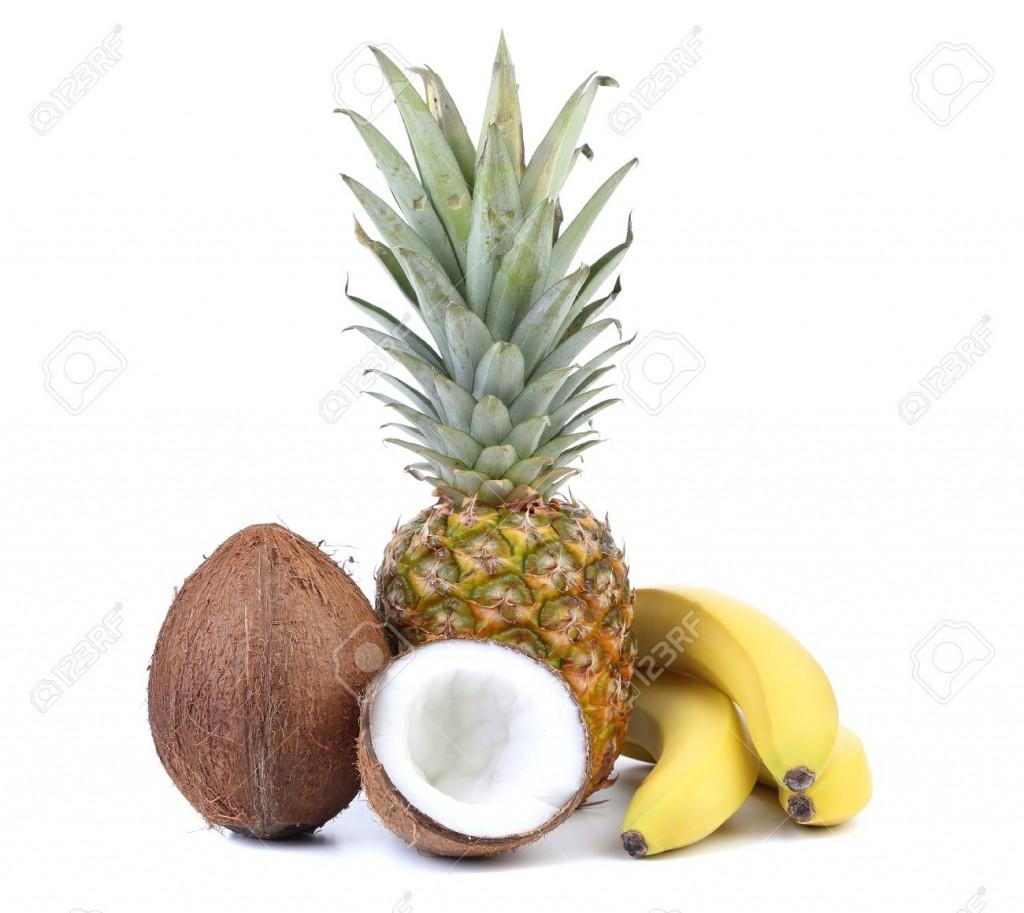 Banane Ananas et coco