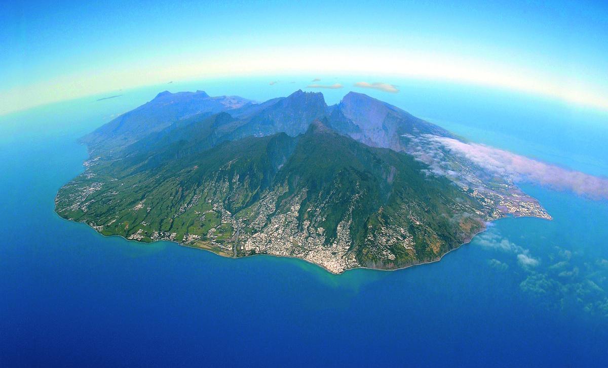 image panoramique Ile de la Réunion