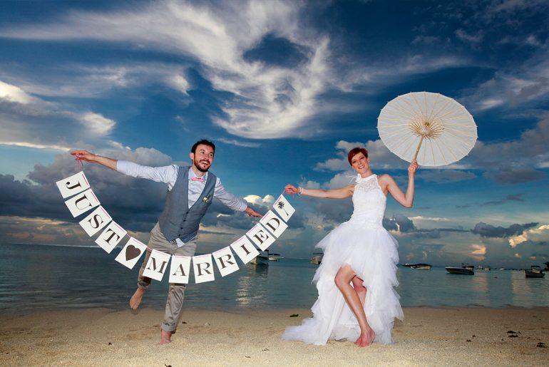 Wedding Indian Ocean