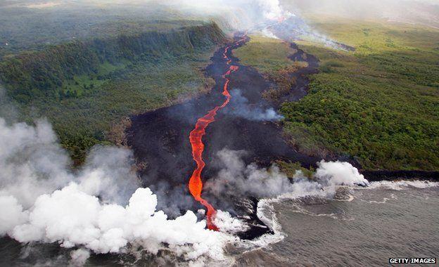Volcan à la Reunion