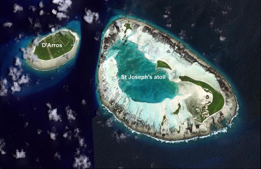 St Joseph Atoll Seychelles