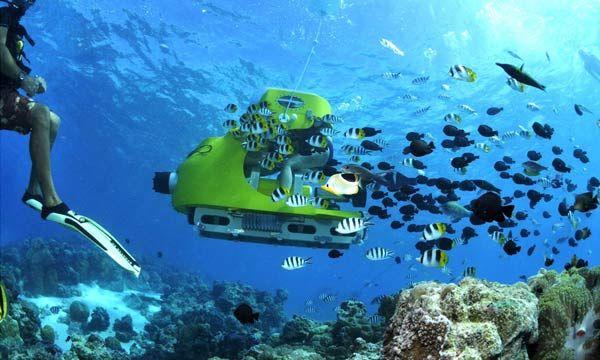 Submarine scooter Mauritius