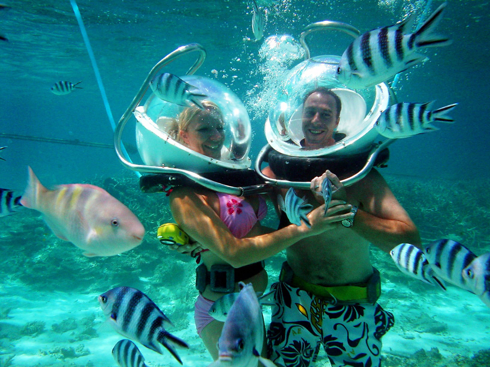 Underwater walking