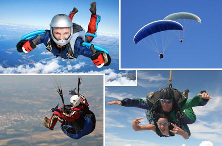 Skydiving Seychelles