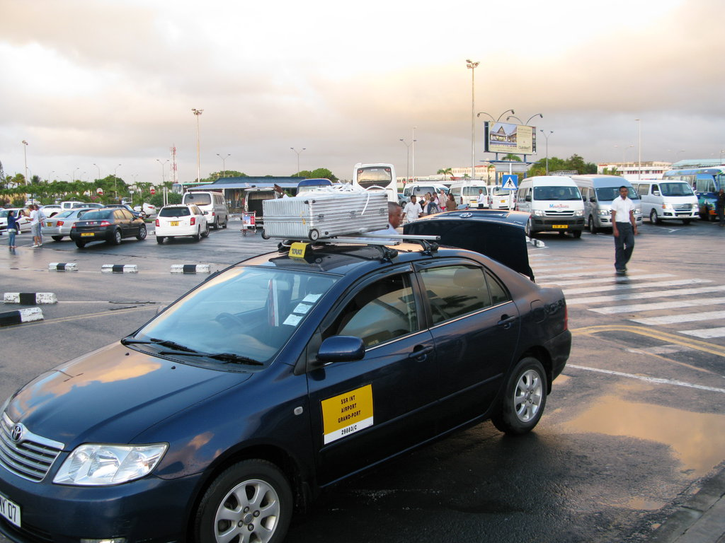 Taxi in Mauritius