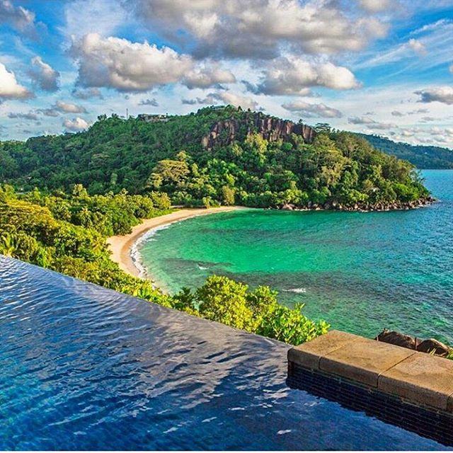 Beach mahe seychelles