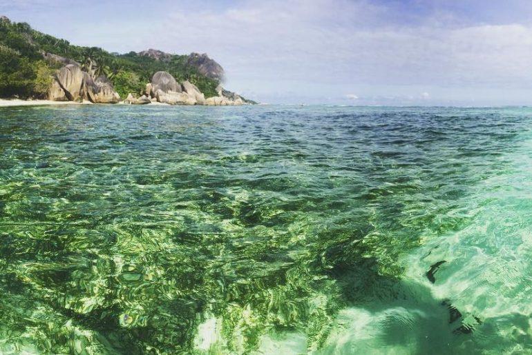 seychelles lagoon