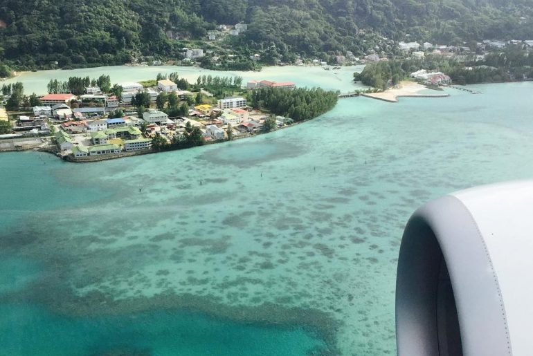 Mahe from above