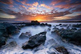 Coucher de soleil Ile de la Réunion