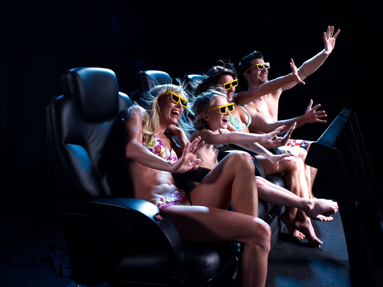 Mauritius attractions: 4D cinema