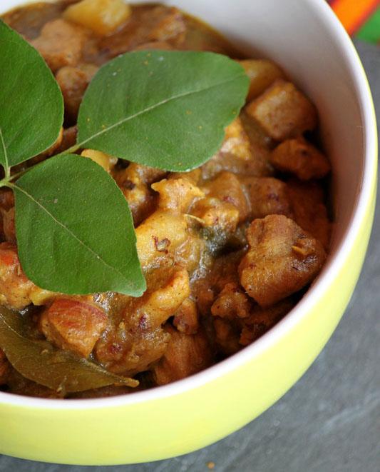 seychelles porc curry
