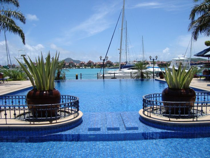 Le wharf Seychelles