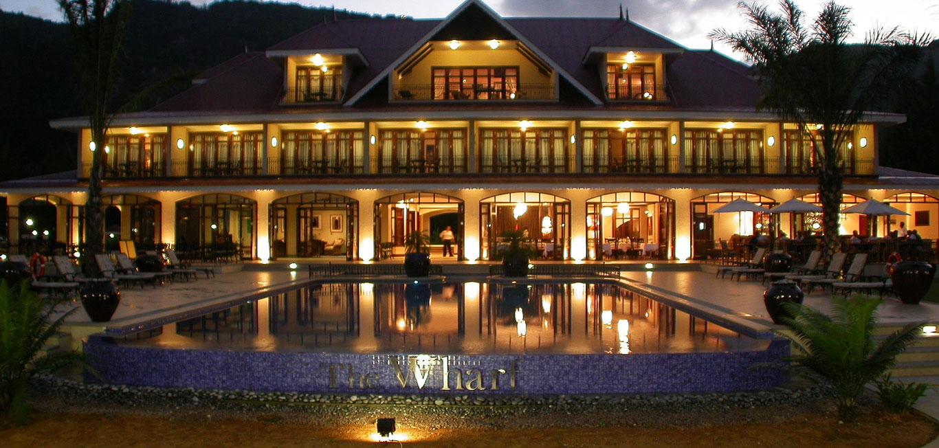 Le wharf hotel seychelles