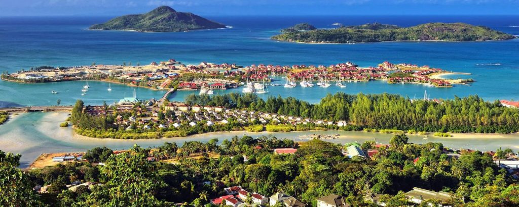 Port victoria mahe island Seychelles