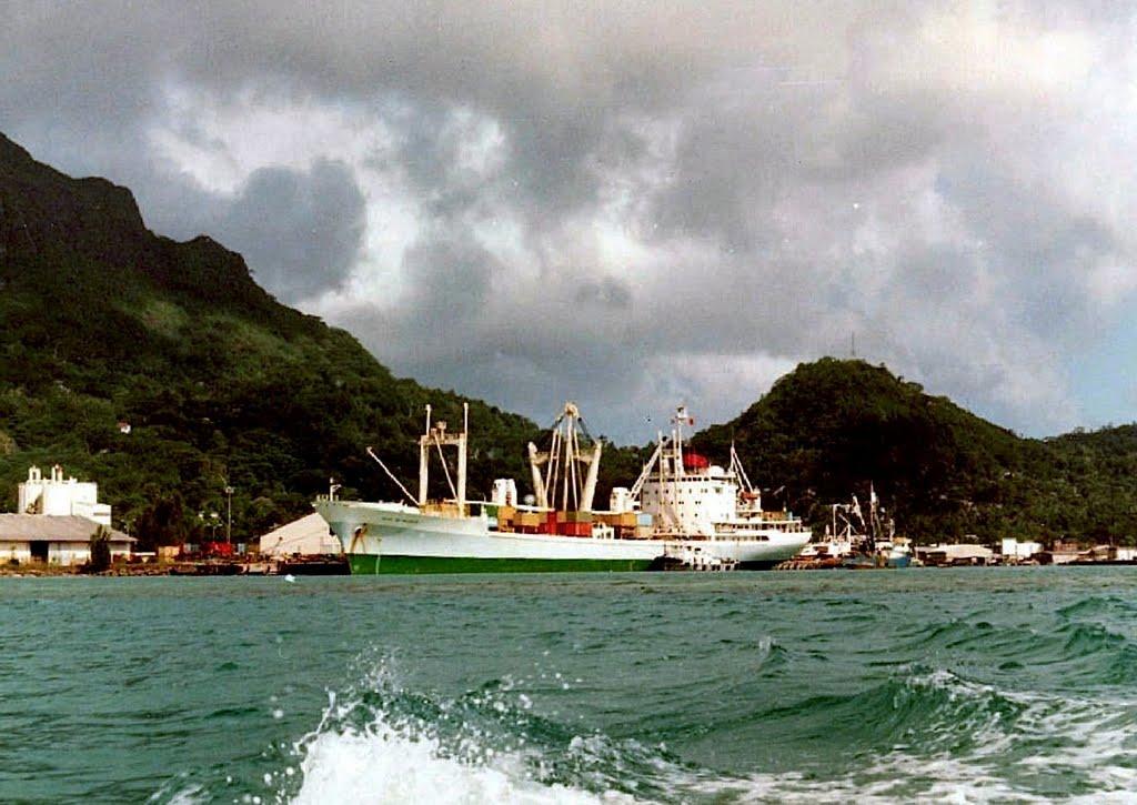Victoria harbour Seychelles