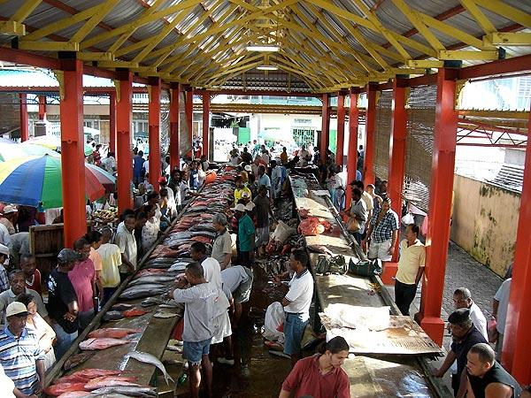 Market Victoria seychelles