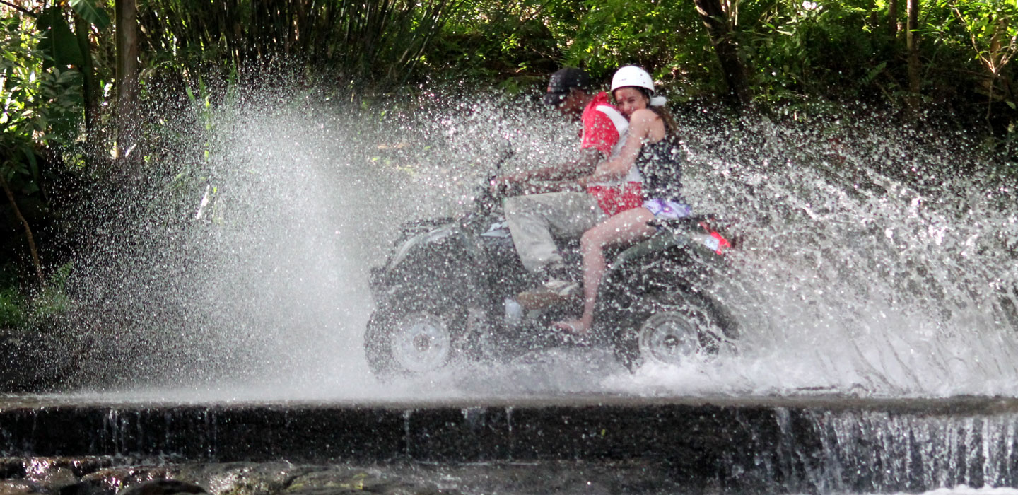 Mauritius attractions: Quad biking