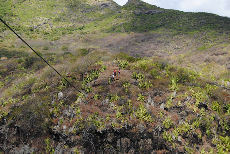 Mauritius attractions: Zip lines