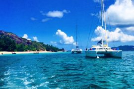Sailing the Seychelles
