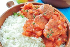 Sausage Rougail Reunion