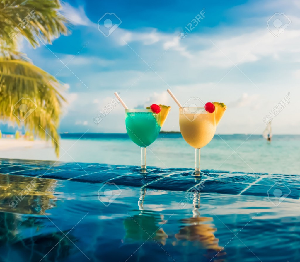 Cocktail in the Indian Ocean
