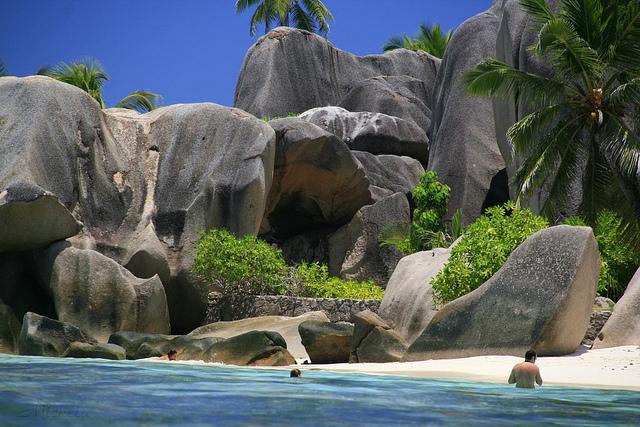 Seychelles Anse Source d'Argent