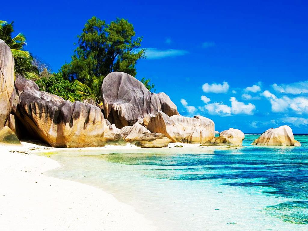 Seychelles Anse Lazio Praslin