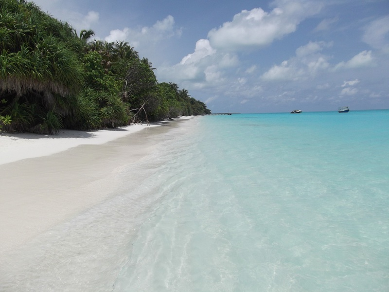 Maldives fulhadhoo beach