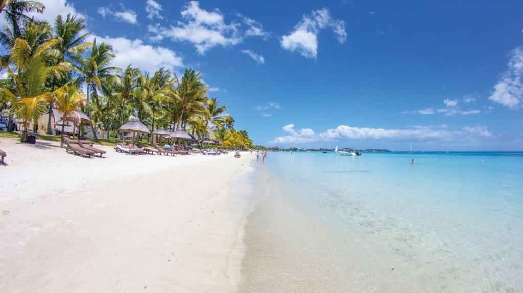 Mauritius trou aux birches beach