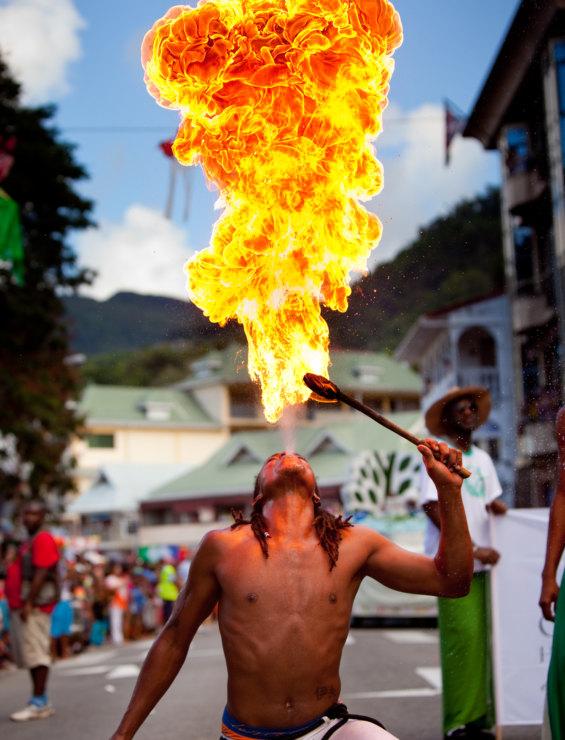 Seychelles  Carnival Participants