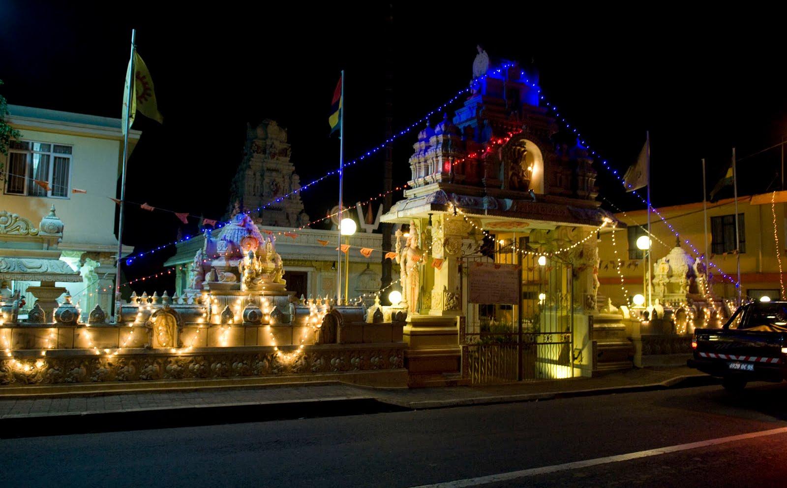 diwali lights mauritius