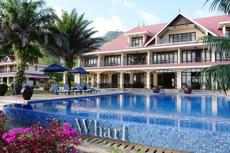The Wharf Hotel in Seychelles