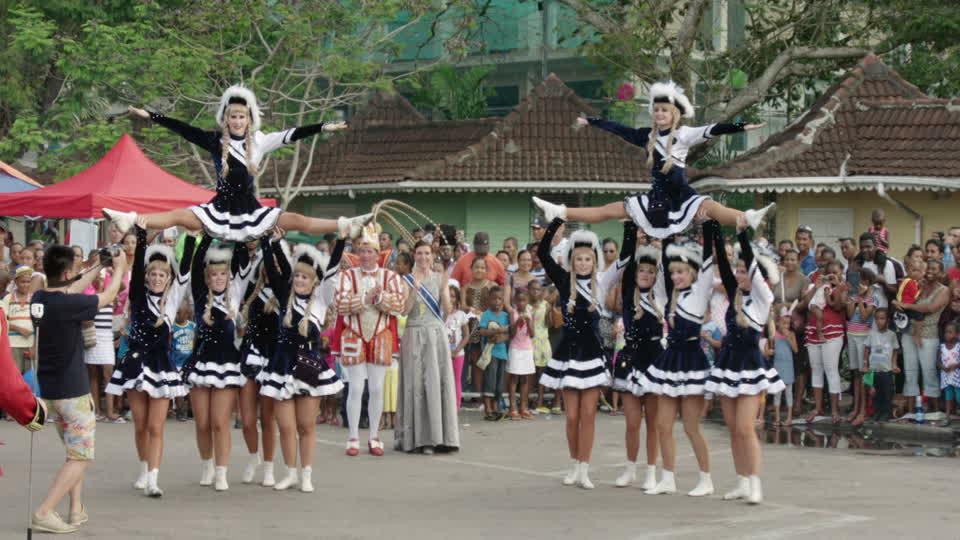 Parade in Seychelles Carnival