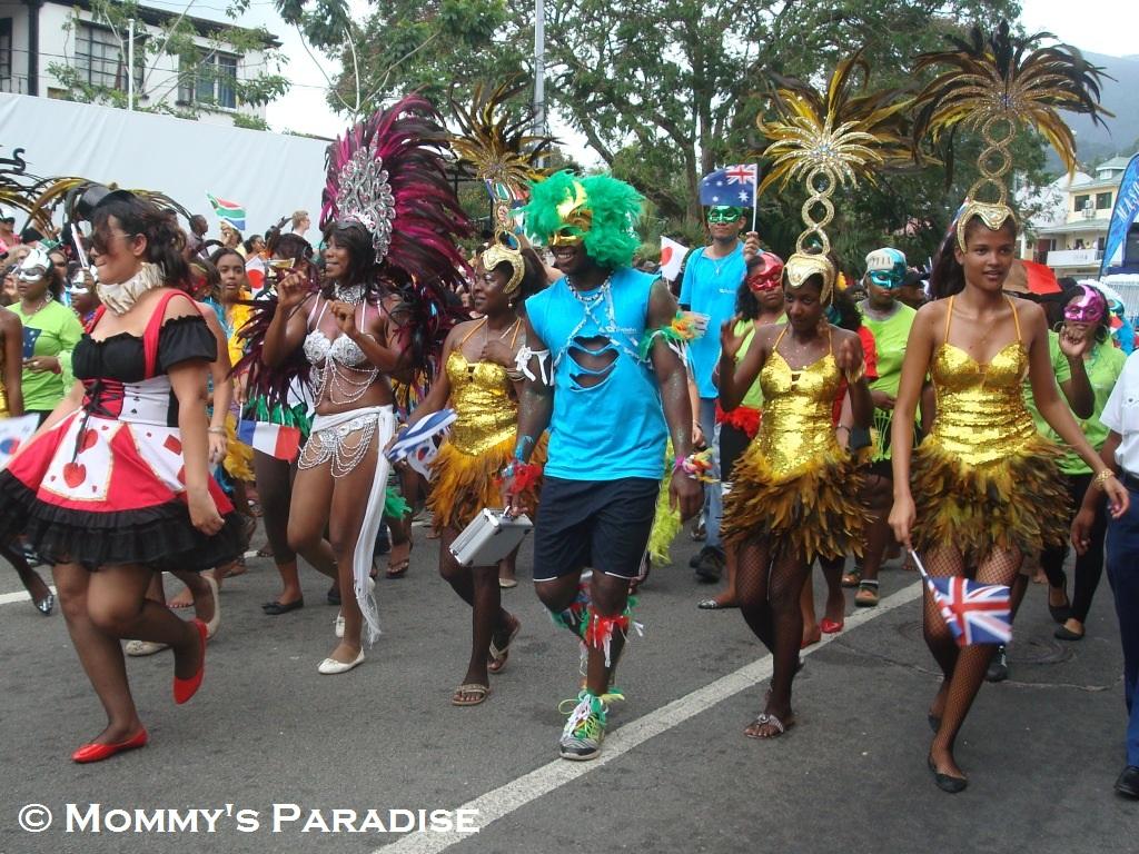 Seychelles Carnival parade