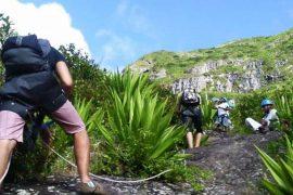 backpaking mauritius