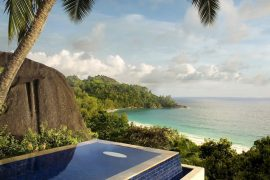 5 star hotel- Banyan Tree Resort- Seychelles