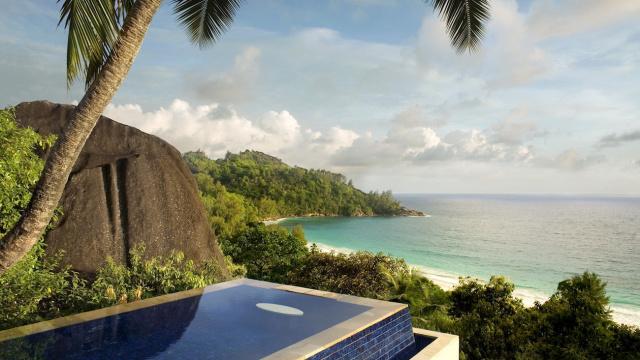 5 star hotel- Banyan Tree Resort- Seychelles