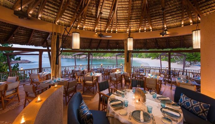 5 star hotel- Constance Lemuria Resort- Seychelles- Restaurant