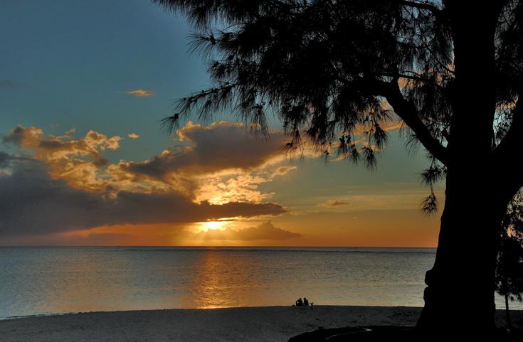 Sunset flic en flac
