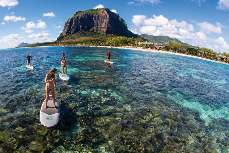 Actvities Standup paddleboarding le morne