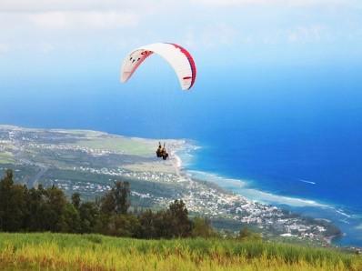 Paragliding Reunion Island