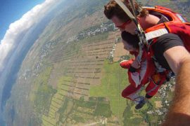 skydiving trip