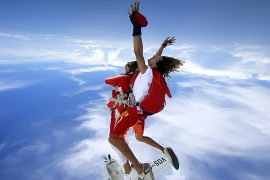 Tandem Skydiving in Mauritius