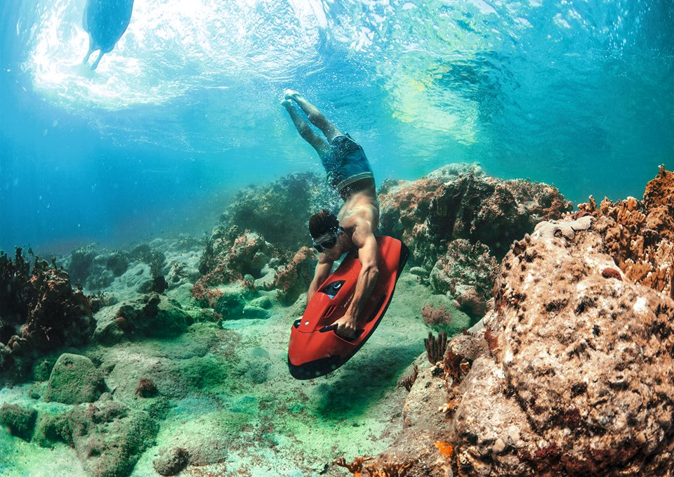 Seabob in Grand Bay Mauritius