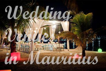 Wedding venues in Mauritius