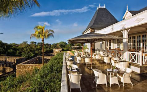 Chateau Mon Désir restaurant- Mauritius