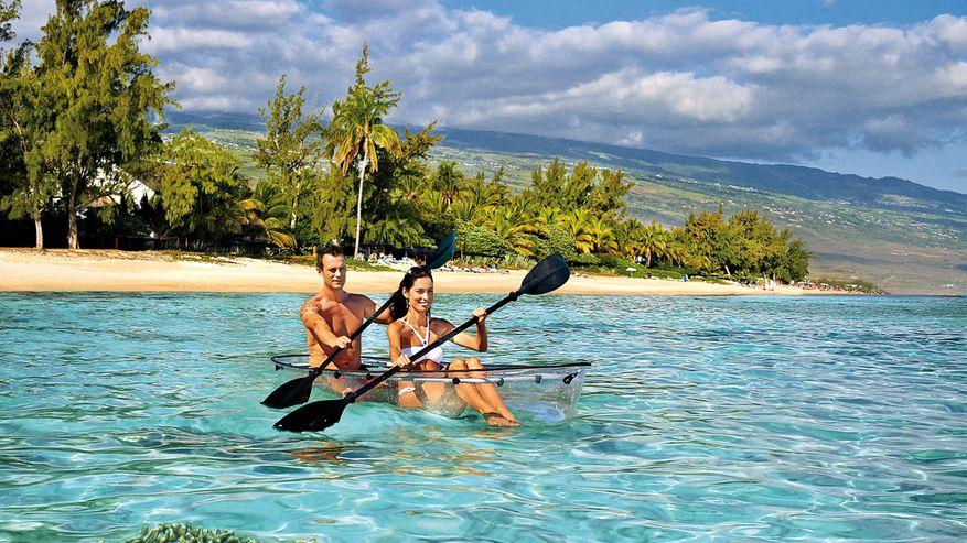 Kayak - Plage Île de la Réunion