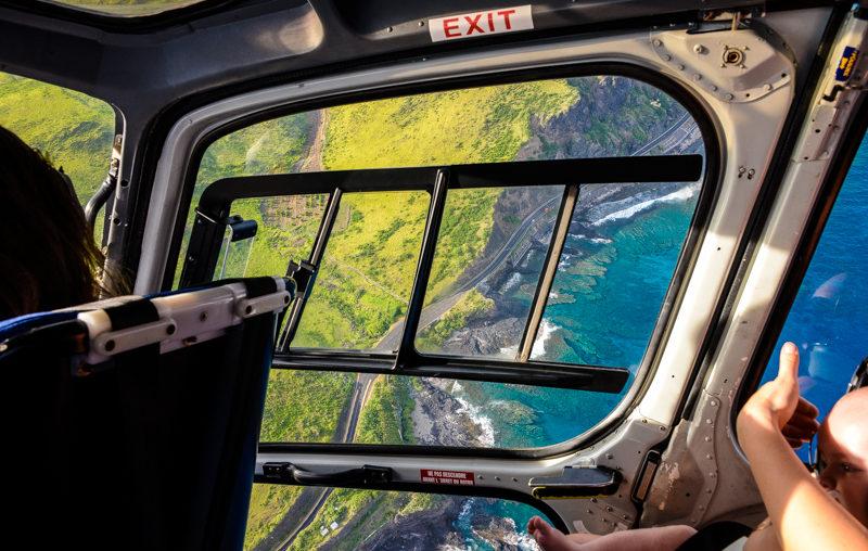 Vol en hélicoptere la Réunion