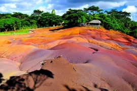 7 coloured earth mauritius