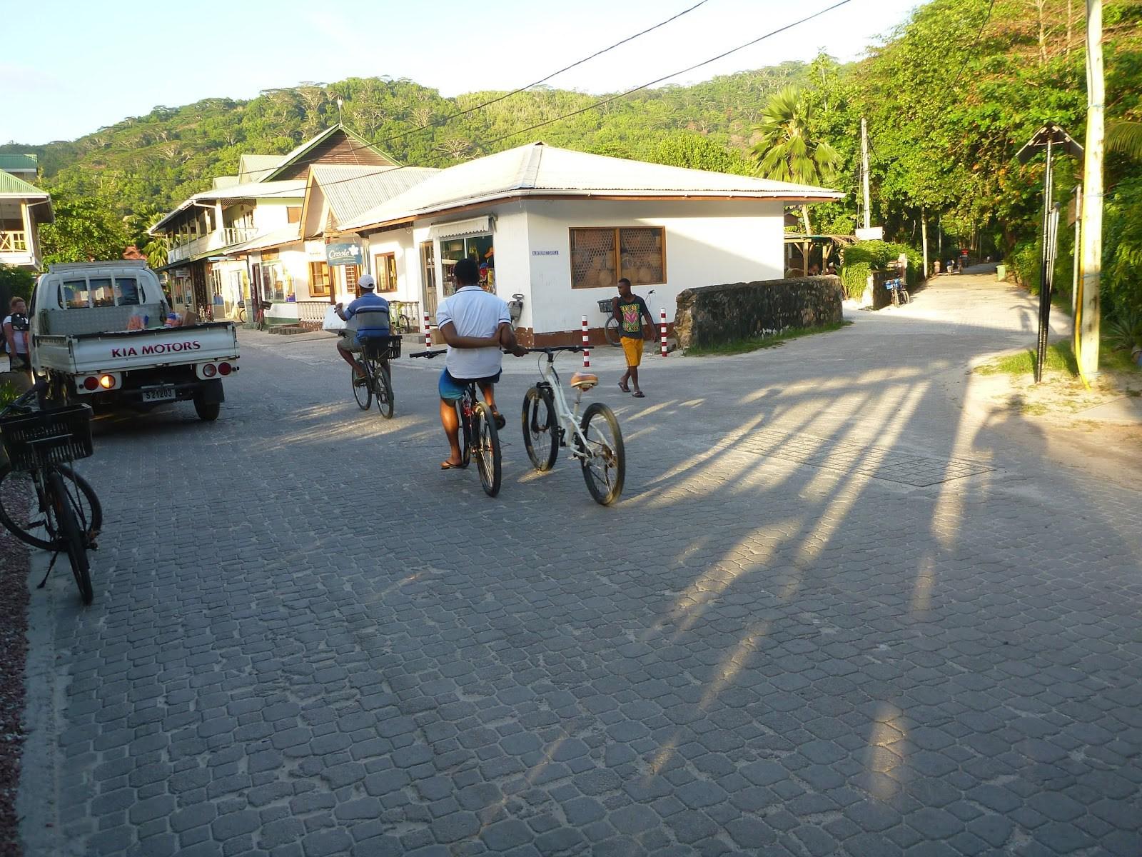 La Digue Seychelles Roads